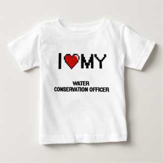 I love my Water Conservation Officer T Shirts