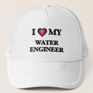 I love my Water Engineer Trucker Hat