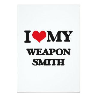 I love my Weapon Smith Invitations