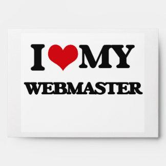 I love my Webmaster Envelopes