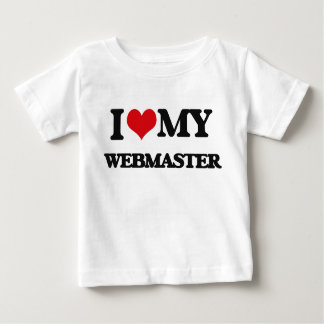 I love my Webmaster Shirt