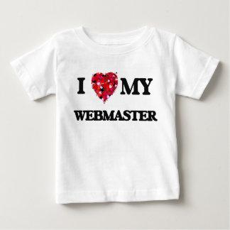 I love my Webmaster T Shirt
