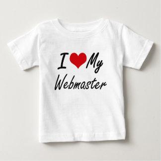 I love my Webmaster Tee Shirt