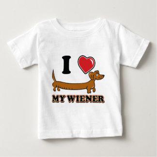I love My Weiner Baby T-Shirt
