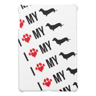 I Love My Weiner Case iPad Mini Cases