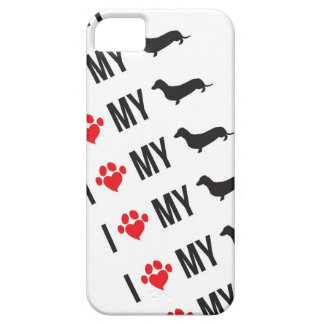 I LOVE MY WEINER CELL PHONE CASE iPhone 5 COVERS