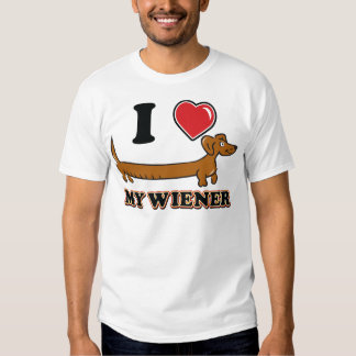 I love My Weiner - Doxie T-Shirt