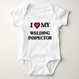 I love my Welding Inspector Baby Bodysuit