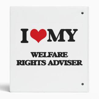 I love my Welfare Rights Adviser Vinyl Binders