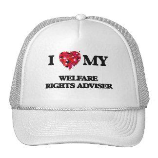 I love my Welfare Rights Adviser Trucker Hat