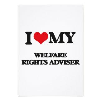 I love my Welfare Rights Adviser Invitation