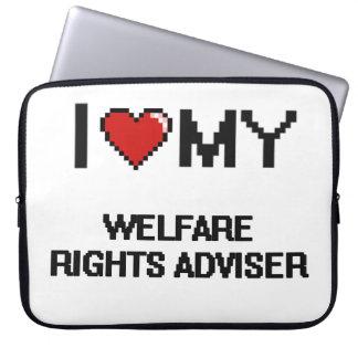 I love my Welfare Rights Adviser Computer Sleeve