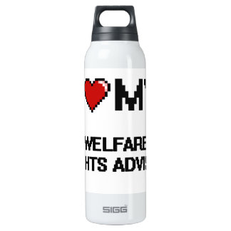 I love my Welfare Rights Adviser 16 Oz Insulated SIGG Thermos Water Bottle