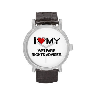 I love my Welfare Rights Adviser Wristwatches
