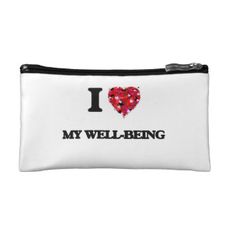 I love My Well-Being Cosmetic Bags