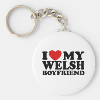 I Love My Welsh Boyfriend Keychain