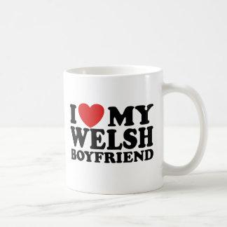I Love My Welsh Boyfriend Coffee Mugs