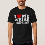 I Love My Welsh Girlfriend T Shirt