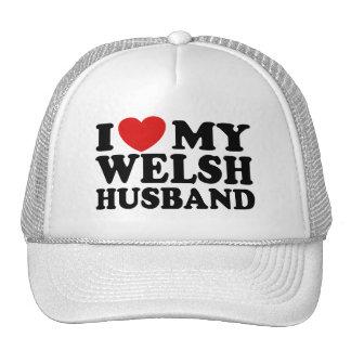I Love My Welsh Husband Trucker Hat