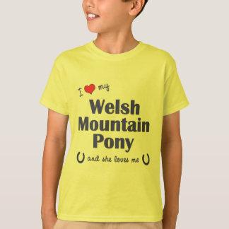I Love My Welsh Mountain Pony (Female Pony) T-Shirt