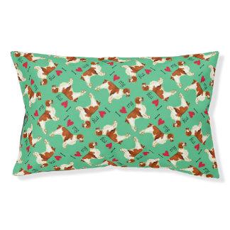 I Love my Welsh Springer Spaniel Dog Bed