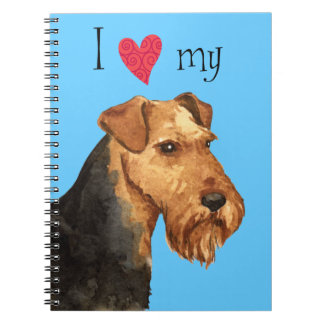 I Love my Welsh Terrier Notebook
