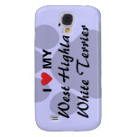 I Love My West Highland White Terrier (Westie) Galaxy S4 Cover