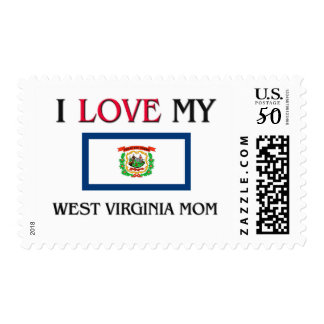 I Love My West Virginia Mom Postage