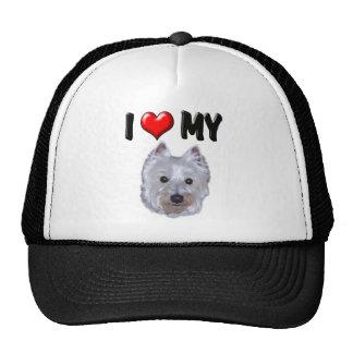 I Love My Westie 2 Trucker Hat