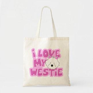 I Love My Westie Bag