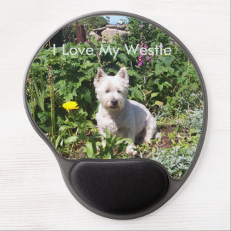 I Love My Westie Gel Mousemat Gel Mouse Pad