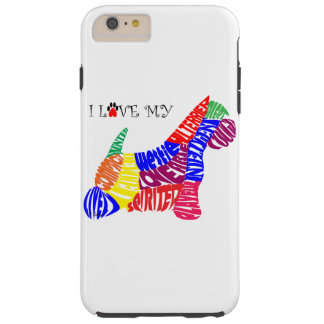 I Love My Westie IPhone 6 Plus Tough Case