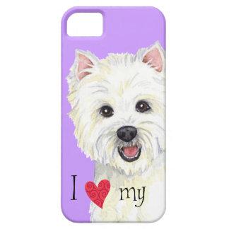 I Love my Westie iPhone SE/5/5s Case