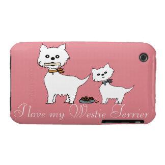I love my Westie Terrier iPhone 3 Case-Mate Case