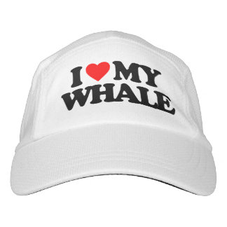 I LOVE MY WHALE HAT