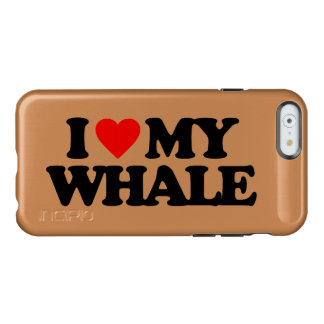 I LOVE MY WHALE INCIPIO FEATHER SHINE iPhone 6 CASE