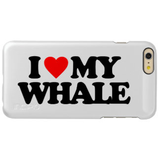 I LOVE MY WHALE INCIPIO FEATHER SHINE iPhone 6 PLUS CASE