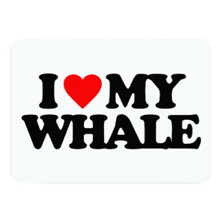 I LOVE MY WHALE ANNOUNCEMENT