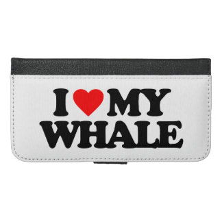 I LOVE MY WHALE iPhone 6/6S PLUS WALLET CASE