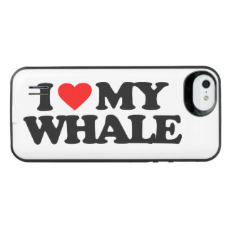 I LOVE MY WHALE iPhone SE/5/5s BATTERY CASE