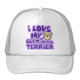 I Love My Wheaten Glen of Imaal Terrier Trucker Hat