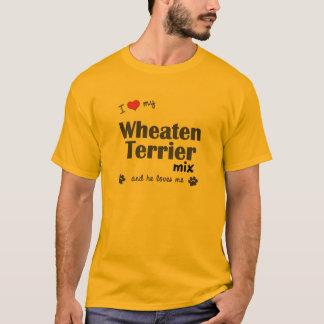 I Love My Wheaten Terrier Mix (Male Dog) T-Shirt