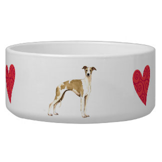 I Love my Whippet Bowl