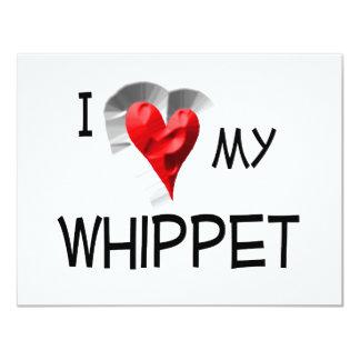 I Love My Whippet Card