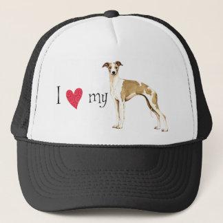 I Love my Whippet Trucker Hat