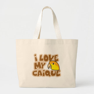 I Love My White Bellied Caique Bag