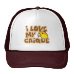 I Love My White Bellied Caique Hat