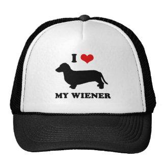 I love my wiener trucker hat
