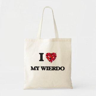 I love My Wierdo Tote Bag