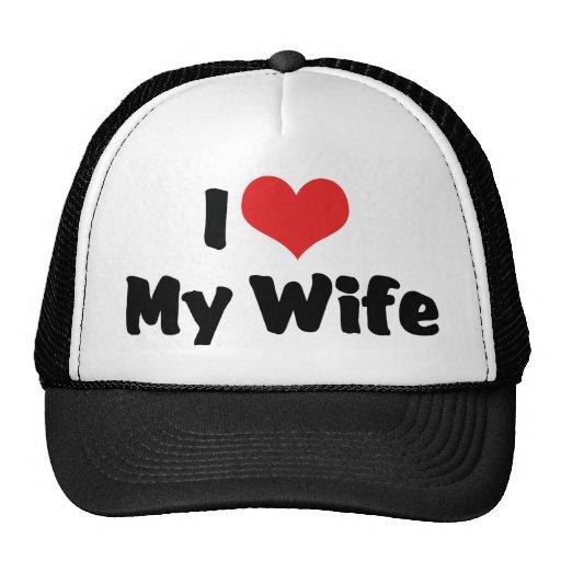 I Love My Wife Hats